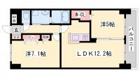 ヴェルデコート[3階]の間取り