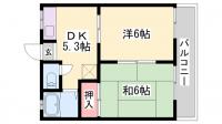 サンプレタ貴崎[102号室]の間取り