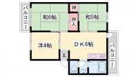 厚生年金住宅[A305号室]の間取り