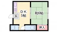 濱西ビル[303号室]の間取り