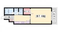 TOAST AKASHI[306号室]の間取り