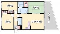 グランプレステージ西神戸[305号室]の間取り