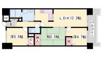 プレステージ西明石Ⅷ[802号室]の間取り