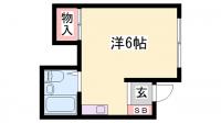 クローバーハウス[202号室]の間取り