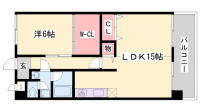 YKハイツ宮の上[3階]の間取り