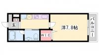 TOAST AKASHI[213号室]の間取り