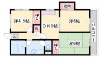 メゾン日宏[401号室]の間取り