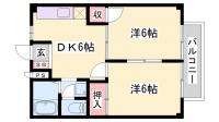 タウニ—SA[1-103号室]の間取り