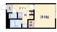 レオパレス太田[101号室]の間取り