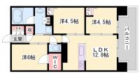 高山コーポ東加古川[302号室]の間取り