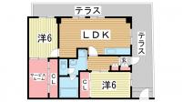マーキス・リー[1階]の間取り