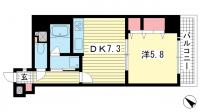 ライオンズマンション神戸元町第5[5階]の間取り