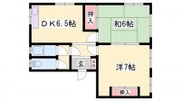 第一ビル [5S号室]の間取り