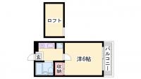 グレイスメゾン姫路[101号室]の間取り