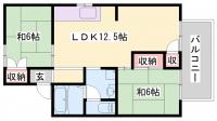 ローゼンハイムC棟[201号室]の間取り