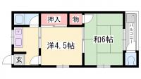 たくみ荘[5号室]の間取り