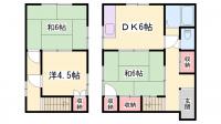 [一戸建] 兵庫県姫路市北原 の賃貸【兵庫県 / 姫路市】の間取り