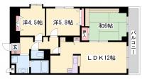 デュプレックス船場[301号室]の間取り