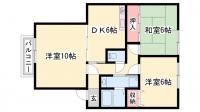 兵庫県姫路市北条永良町の賃貸アパートの間取り