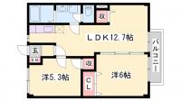 NEW CITY 松本[202号室]の間取り