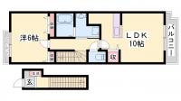 クローバーⅠ[2階]の間取り
