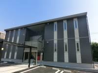 兵庫県姫路市飾東町豊国の賃貸アパートの外観