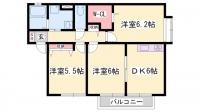兵庫県姫路市飾磨区英賀の賃貸アパートの間取り