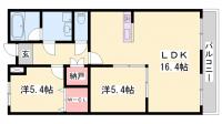 メゾン・ド・サンパティーク[2階]の間取り