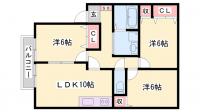 アピアス姫路[103号室]の間取り