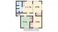 バードレイク福島[1階]の間取り