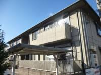 兵庫県姫路市飾磨区英賀の賃貸アパートの外観