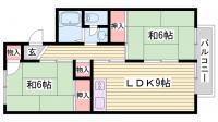 上の丸コーポ[1階]の間取り