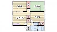 プランドールMITANI C棟[2階]の間取り