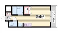 サンエキューズⅡ[3階]の間取り