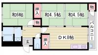 高木マンション[305号室]の間取り