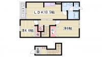 カーサM・Y・KⅡ[202号室]の間取り
