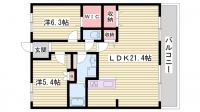 サンシティ明石江井ヶ島南[306号室]の間取り