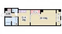 スプリングマンション[202号室]の間取り