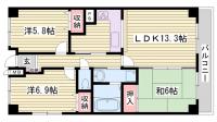ル・セール西神戸壱番館[4階]の間取り