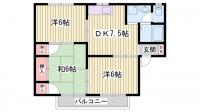 リバーサイド小野[2階]の間取り