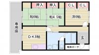 ドゥ・ホーム別所[1階]の間取り