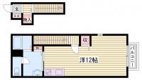 アルハンブラ[2階]の間取り