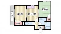 ファーストハウス[103号室]の間取り