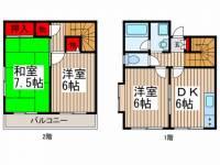 [テラスハウス] 埼玉県さいたま市浦和区常盤3丁目 の賃貸【埼玉県 / さいたま市浦和区】の間取り