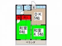 中村荘A[A3号室]の間取り