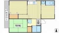 西三木マンション 東館[5号室]の間取り