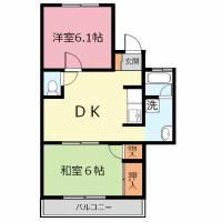 埼玉県富士見市羽沢3丁目の賃貸アパートの間取り