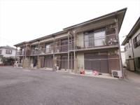 埼玉県富士見市羽沢3丁目の賃貸アパートの外観