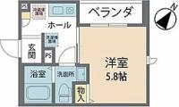 仮)文京4丁目ベレオ[207号室]の間取り