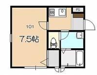 TYC東松山[101号室]の間取り